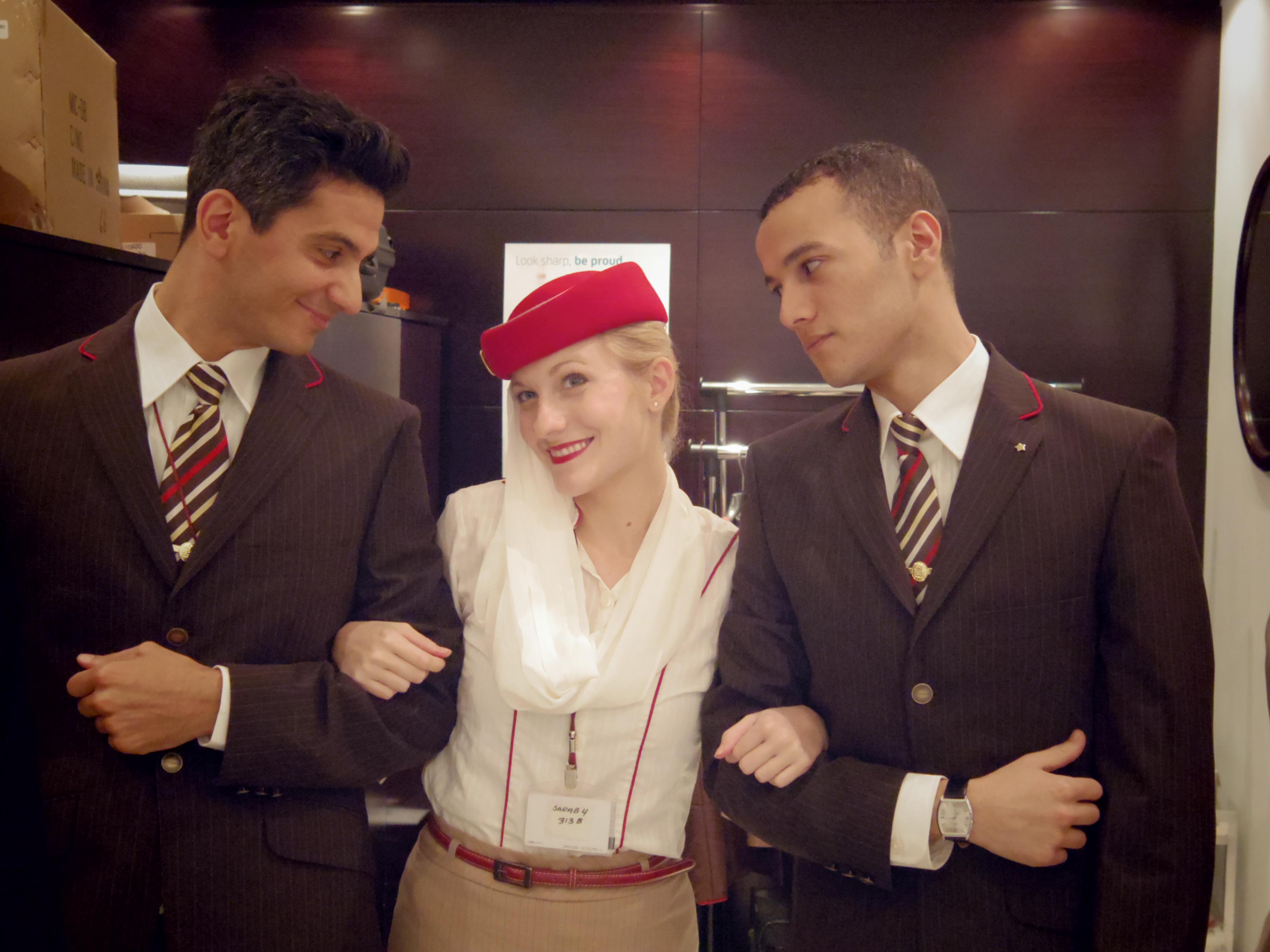 Dating male flight attendant